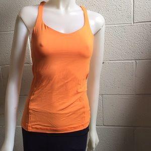 lululemon athletica Tops - Lululemon orange tank, sz 6, 58879
